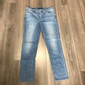 Lucky Brand jeans with a little distressing EUC